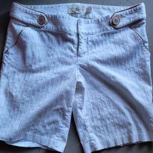 Guess Pinstripe Bermuda Shorts